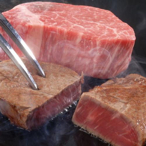 牛肉料理、「ヒレ」、「リブロース」、「サーロイン」、「ともばら」の使い方