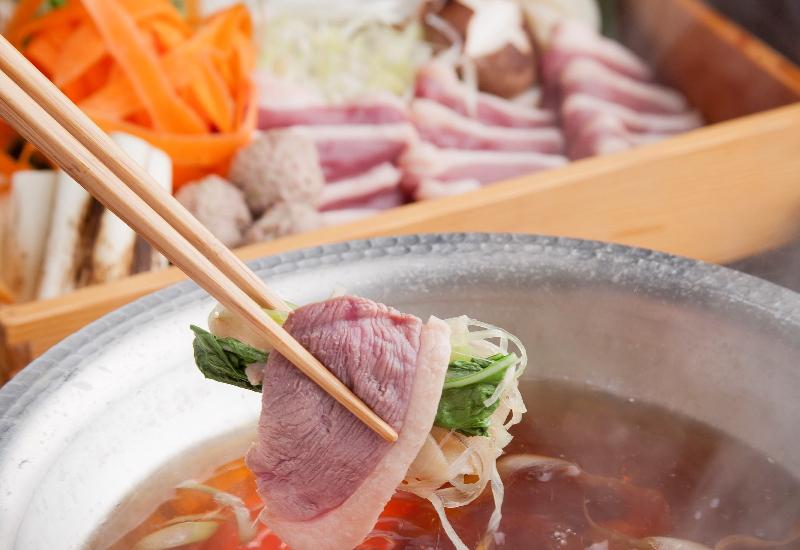 真鴨料理は、肉のおいしさを感じることに本質があります