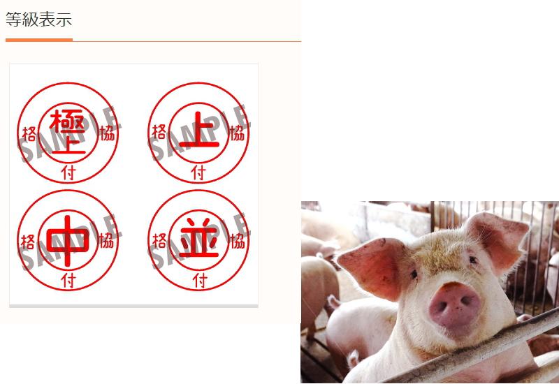 豚肉の格付け、あるのご存じですか