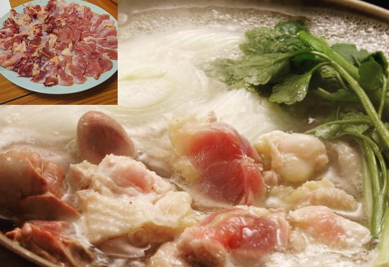 キジ料理も数々ありますが、やはり食べ方も和食が一番です