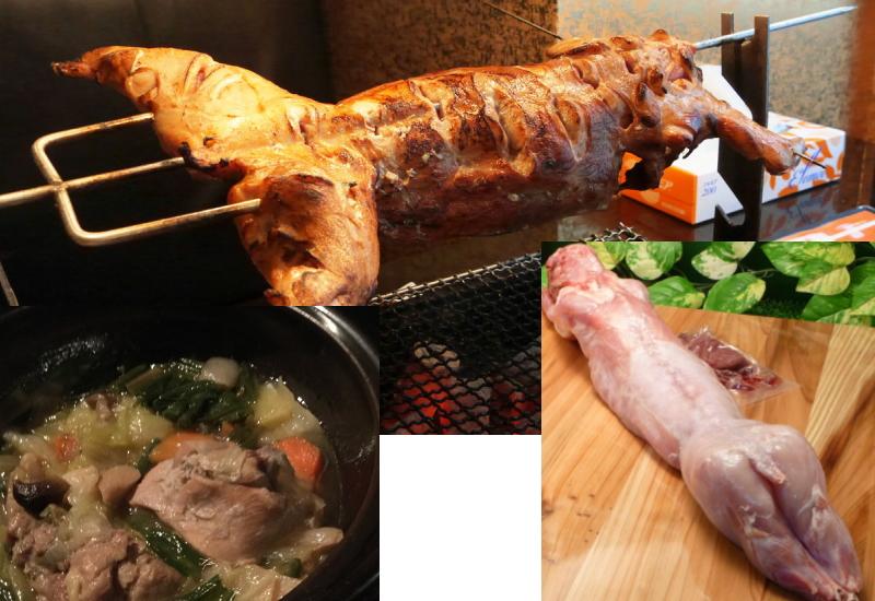 ウサギ肉と日本