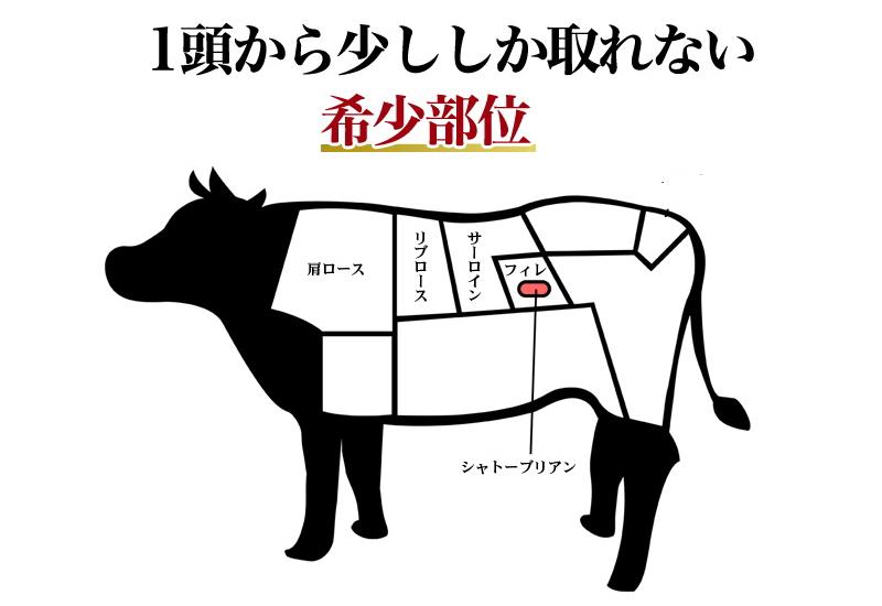 牛肉の希少部位、肩ロース・ロース・ヒレ編