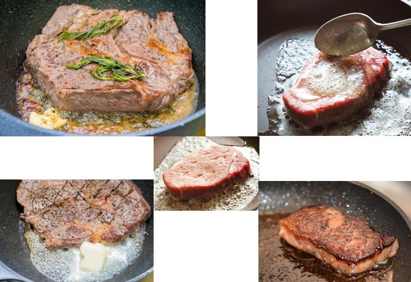 美味しいステーキの焼き方、メイラード反応が重要